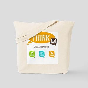 Think [CA]  Tote Bag